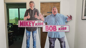 The Morning Freak Show - Life Size Mikey and Bob Cutouts!