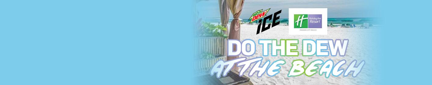Win a trip to Holiday Inn Resort PCB + a cooler full of Mtn Dew Ice!