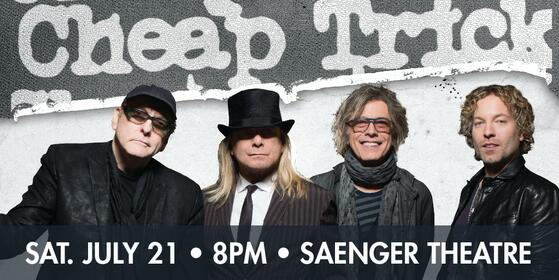 Want to see Cheap Trick? Enter here for your chance to WIN!