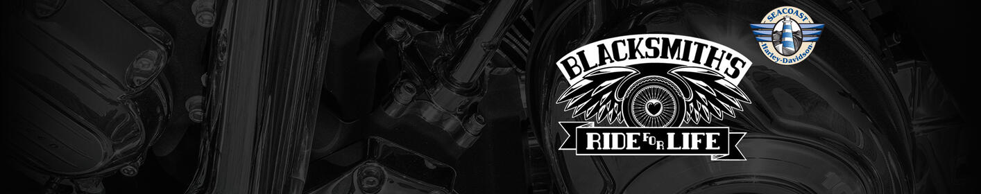 Register Now for Blacksmith's Ride For Life