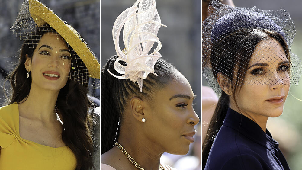 15 Fancy Hats From The Royal Wedding  e1741360ae5c