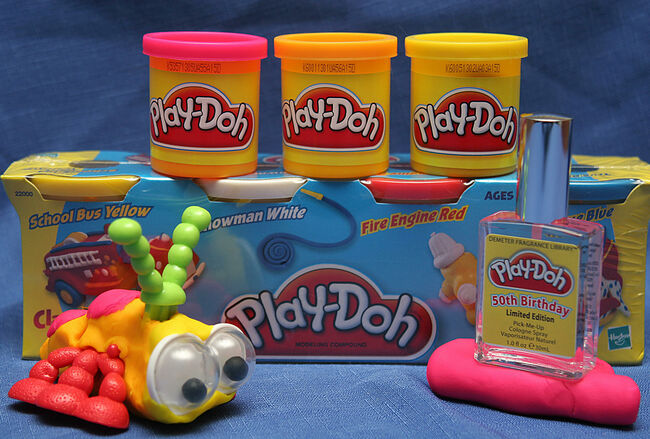 Play-doh's smell trademarked by Hasbro