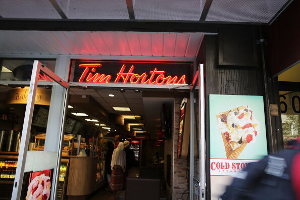 Tim Hortons - Getty Images