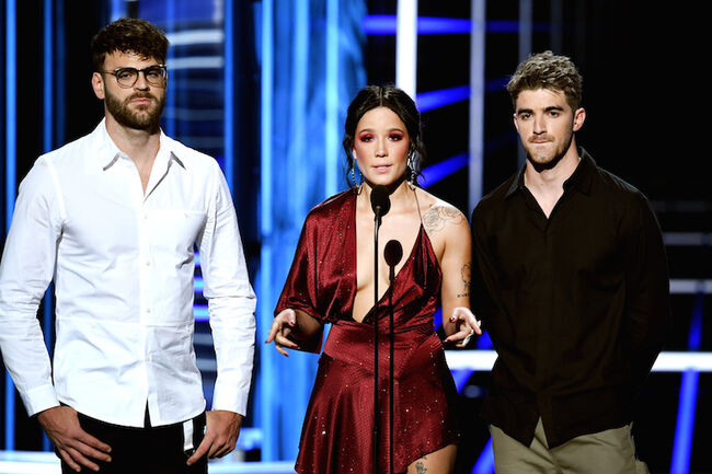 The Chainsmokers, Halsey at the Billboard Music Awards