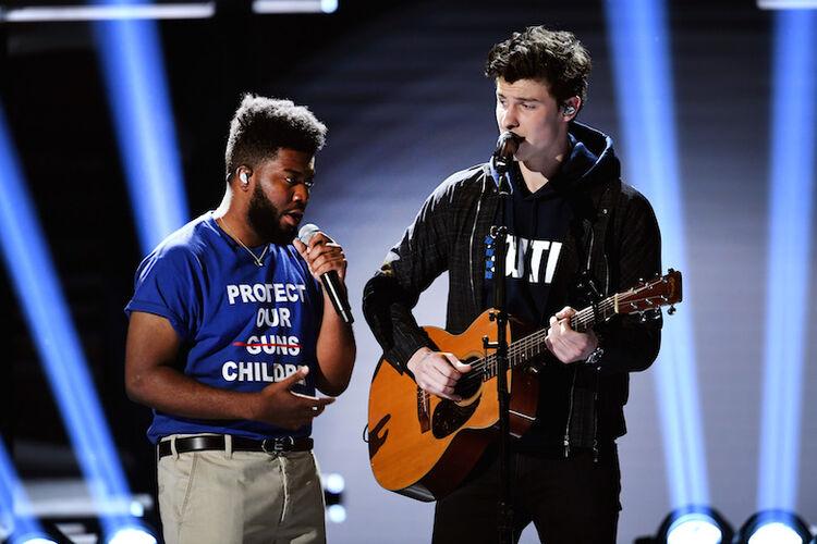 Shawn Mendes, Khalid at Billboard Music Awards