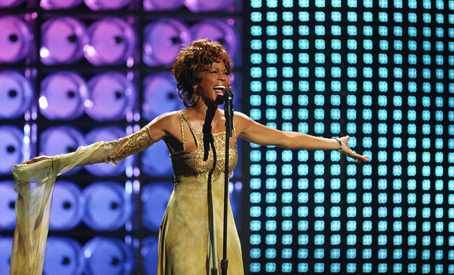 Whitney Houston-photo:Getty Images North America