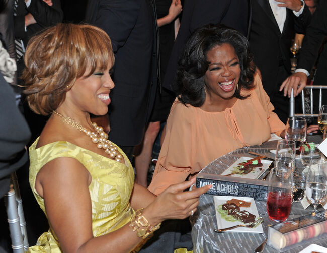 Oprah and Gayle- Getty Images North America