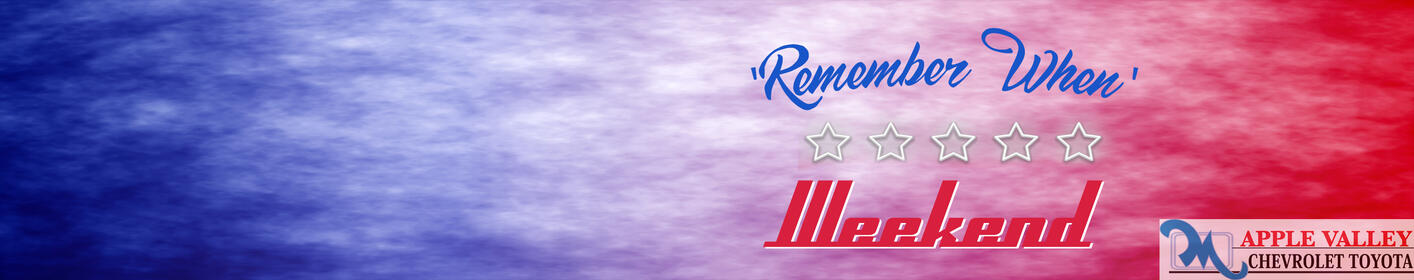 Memorial Day Weekend is a 'Remember When' Weekend on Q102!