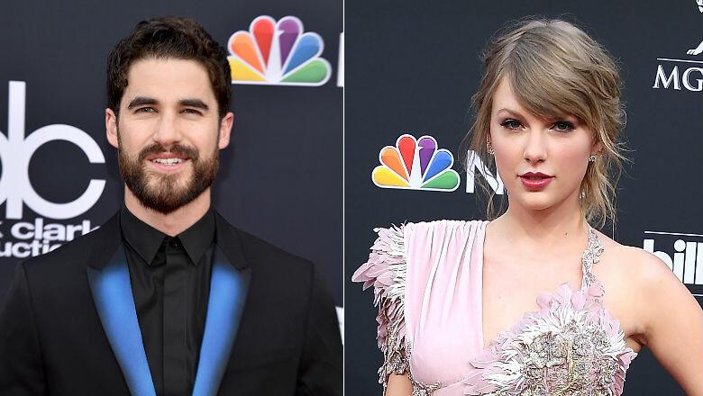 Darren Criss Films Taylor Swift Blocking His Billboard Music Awards View