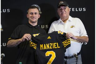 Johnny Manziel's CFL Debut