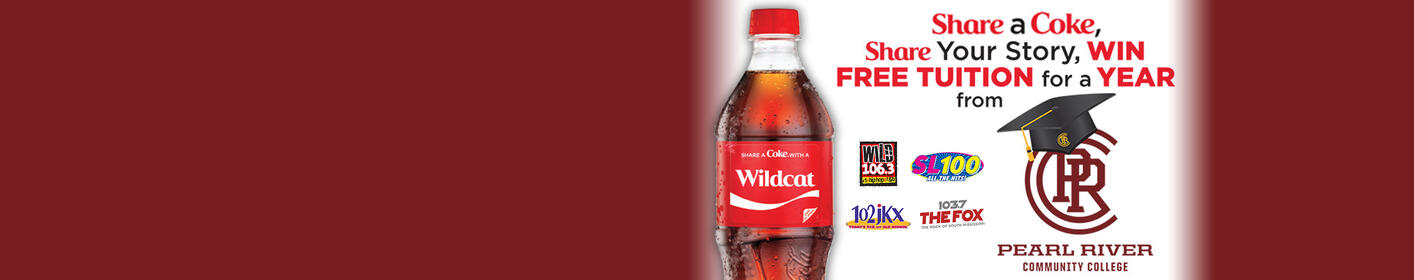 Share a Coke, share your story and win FREE TUITION FOR A YEAR at PRCC.