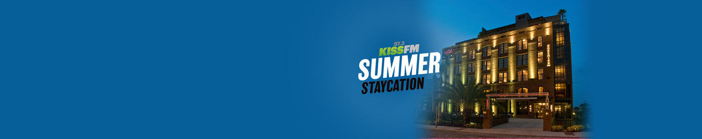 Win the KISS FM Summer Staycation Weekend at The Bohemian