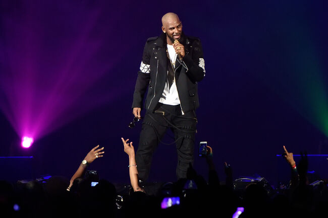 R. Kelly- photo:Getty Images North Amercia