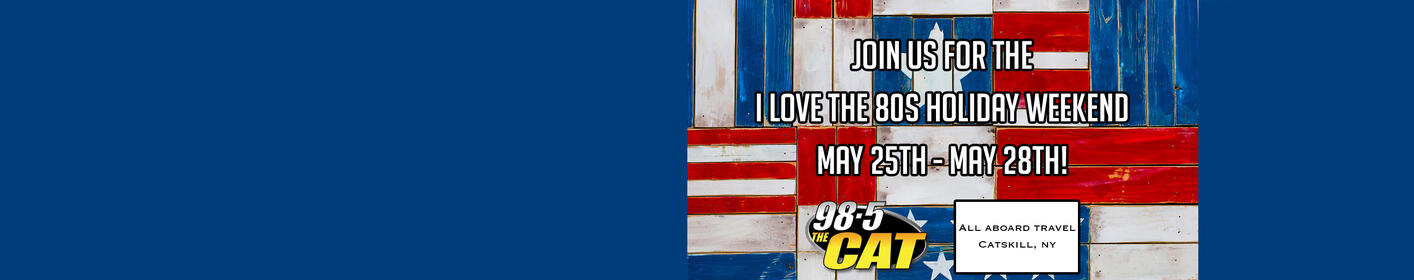 I Love the 80's Weekend is BACK May 25th-28th!