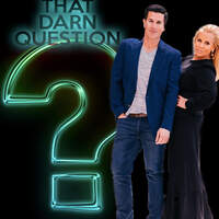 TUNE IN WEEKDAY MORNINGS WITH CHAD & LESLYE FOR 'THAT DARN QUESTION'