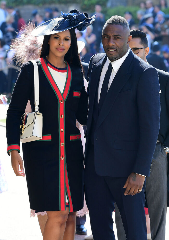 Sabrina and Idris -photo:Getty Images AFP
