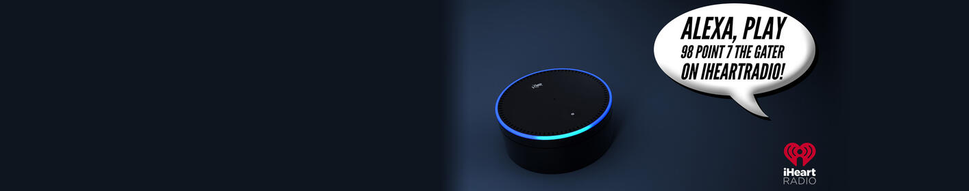 Just Ask Your Alexa To Play Gater 98.7!