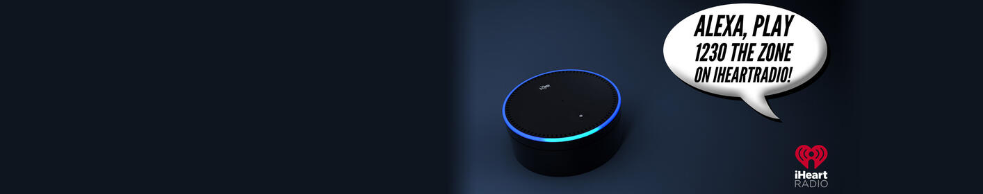 Just Ask Your Alexa To Play 1230 The Zone!