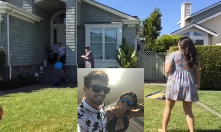 Uplifting - Gender Reveal Goes Hysterically Wrong When Grandpa Gets Hit In Face