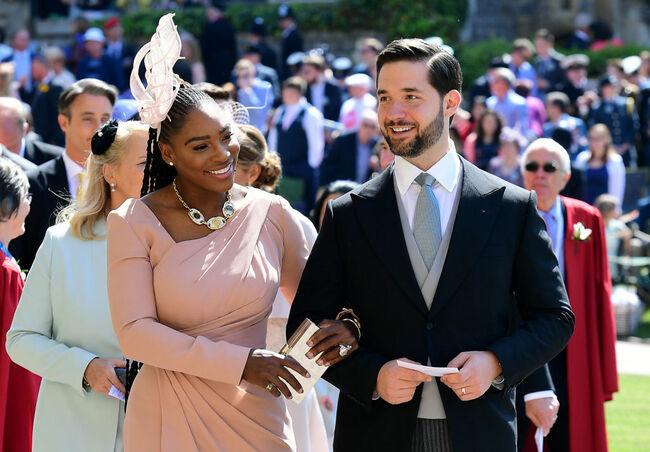 Serena Williams at the Royal Wedding