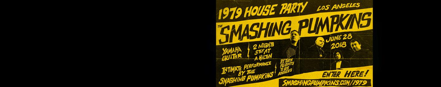 Party With The Smashing Pumpkins In LA!
