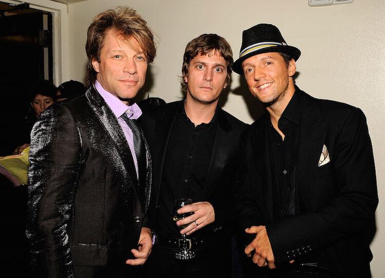 Jon Bon Jovi, Rob Thomas, Jason Mraz