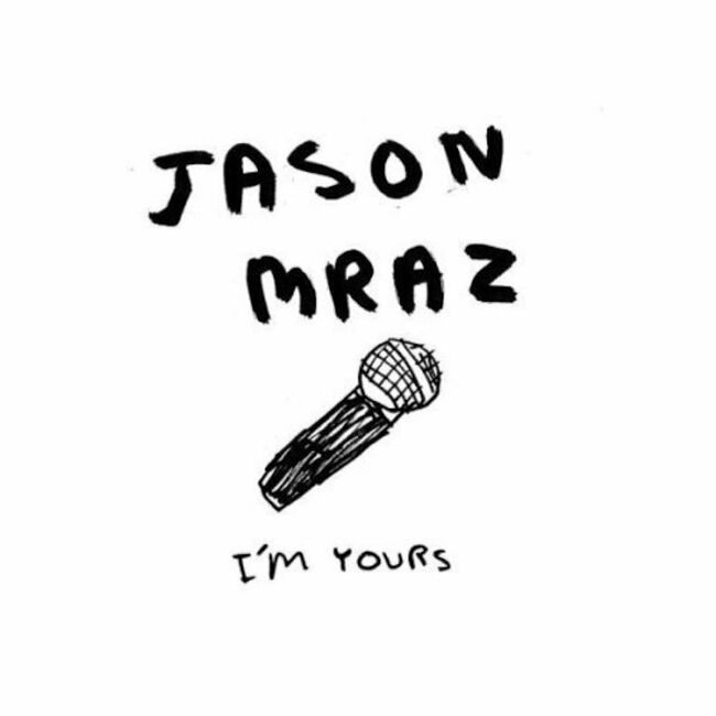 """Jason Mraz """"I'm Yours"""" Single Cover Art"""