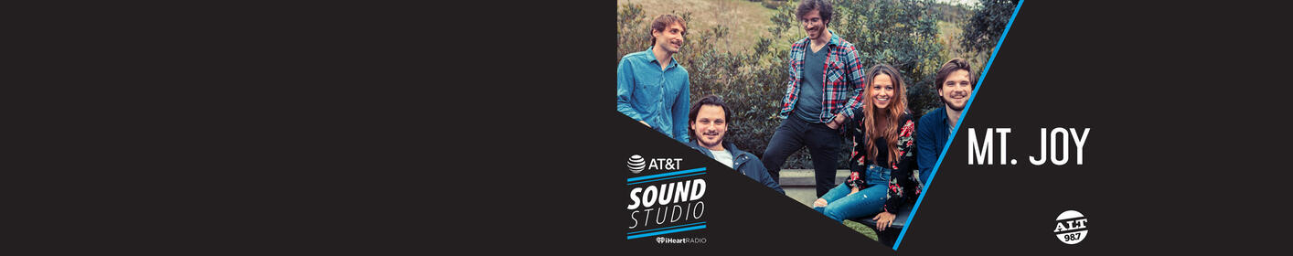 Here's Your Chance To Be Invited To An Intimate Performance From Mt. Joy Inside The AT&T Sound Studio!