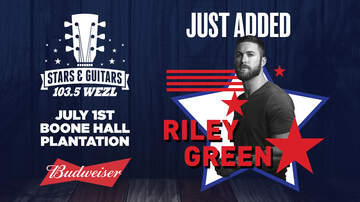 Stars (2164) - Just Added: Riley Green will play Stars & Guitars 2018