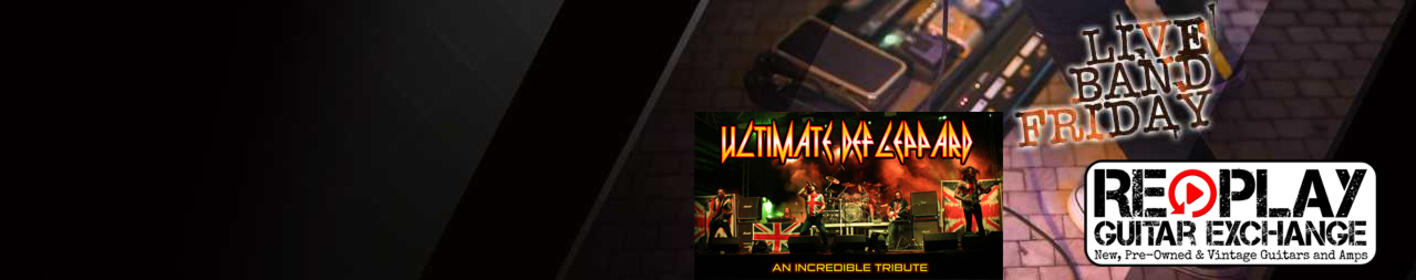 Register to win an invite to Crash Mornings Live Band Friday with Ultimate Def Leppard