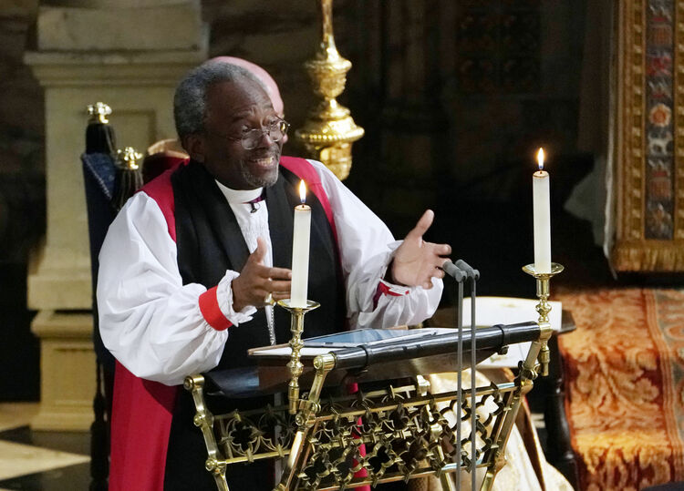 Bishop Michael Curry-photo:Getty Images AFP