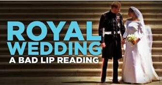 The Drive Home with Christina Wolford - VIRAL VIDEO- Bad Lip Reading: the Royal Wedding