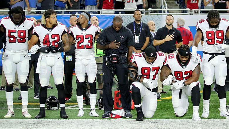 NFL national anthem protest
