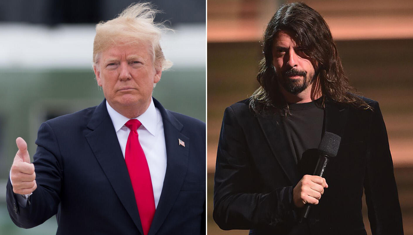 Dave Grohl Says His Politics Don't Matter On Stage