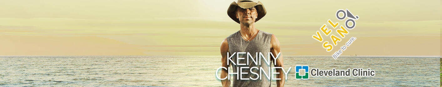 Bid Here to Meet Kenny Chesney and Benefit Cancer Research at Cleveland Clinic!