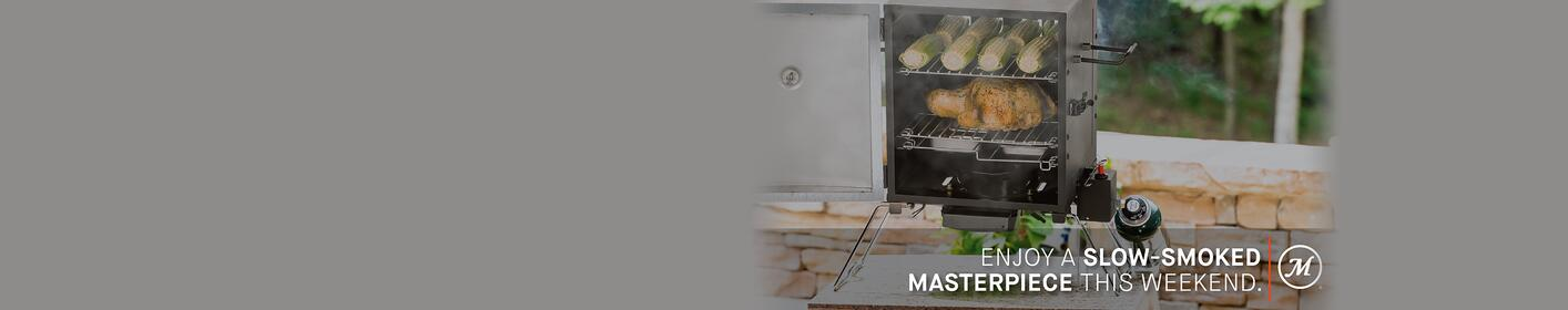 Enter for a chance to win your very own Masterbuilt Propane Smoker!