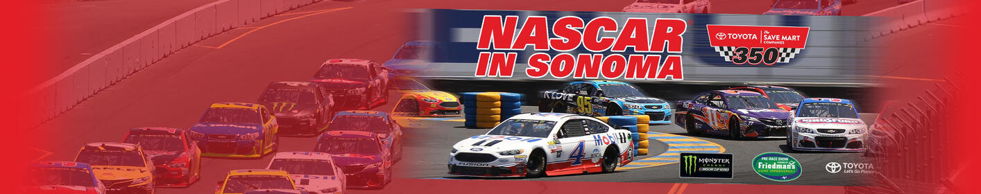 Enter To Win Tickets to Nascar In Sonoma!