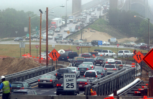 Sagamore Bridge Traffic (Credit:(Photo by Darren McCollester/Getty Images)