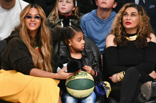 Blue Ivy Hilariously Pranks Grandma Tina Knowles With 'Hands And Eggs'