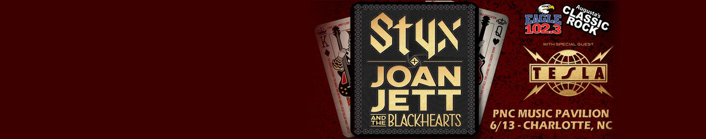 STYX + JOAN JETT and Tesla - Live In Concert!
