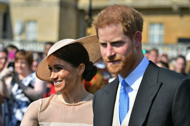 Prince Harry & Meghan Marckle / Getty Images