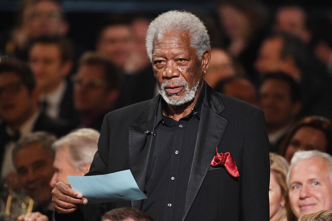 Morgan Freeman photo:Getty Images North America