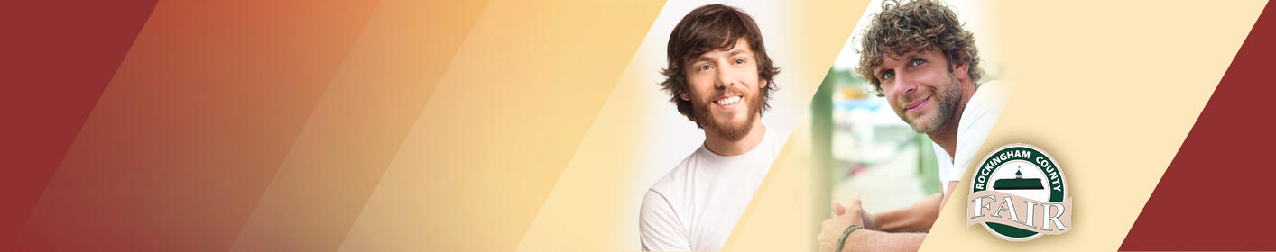Get your ticket to see Chris Janson, Billy Curington and more at the Rockingham County Fair!
