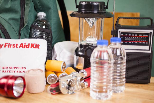 Emergency Supplies Getty RF