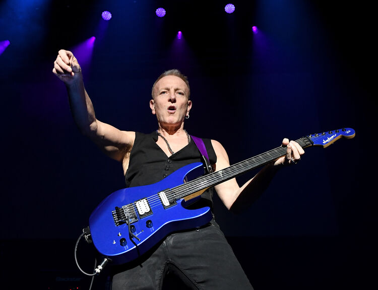 Phil Collen, January 2018, Getty Images