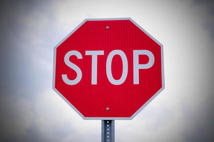 Stop Sign Getty RF