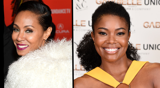 Jada Pinkett Smith and Gabrielle Union - Getty Images