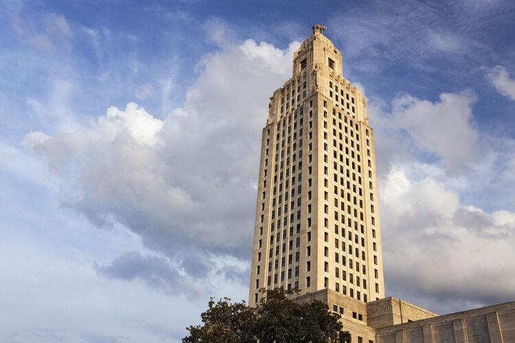 Louisiana State Capitol Getty RF