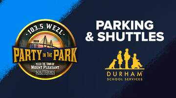 Party In The Park - Parking and Shuttle Service