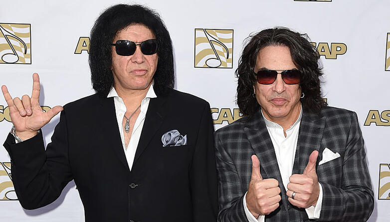 Paul Stanley Joins Gene Simmons at Las Vegas 'Vault' Event